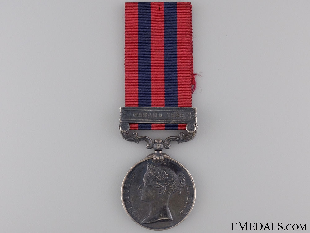 eMedals-1854 India General Service Medal to the Suffolk Regiment