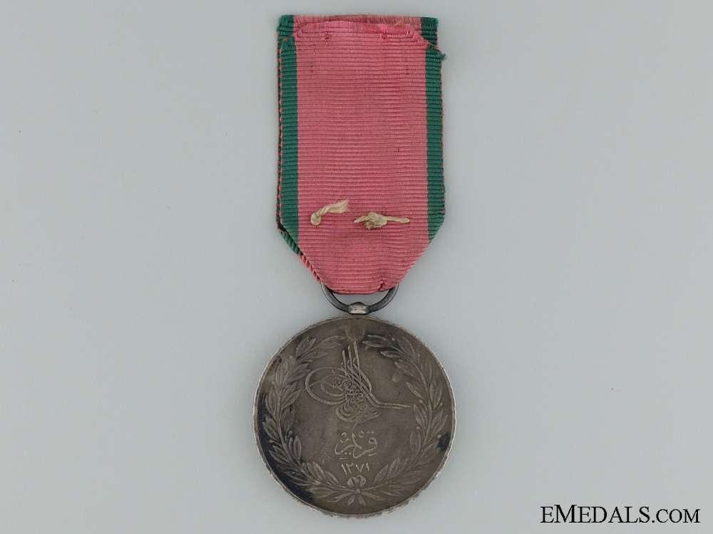 eMedals-1855 Turkish Crimea Medal to the 39th Regiment of Foot