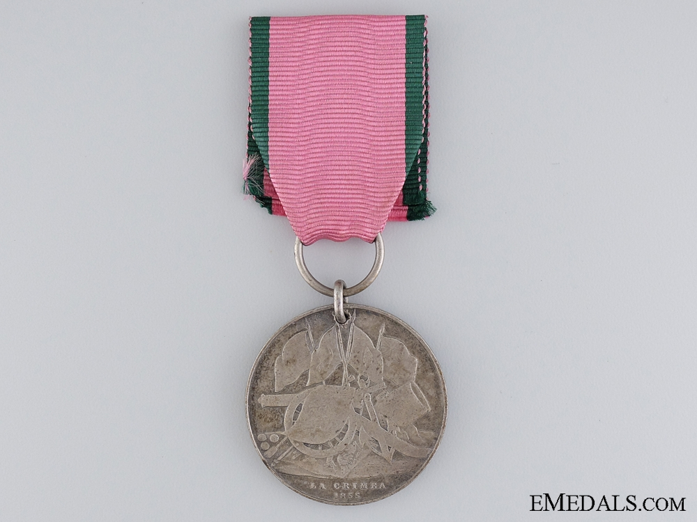 eMedals-1855 Turkish Crimea Medal; Unnamed