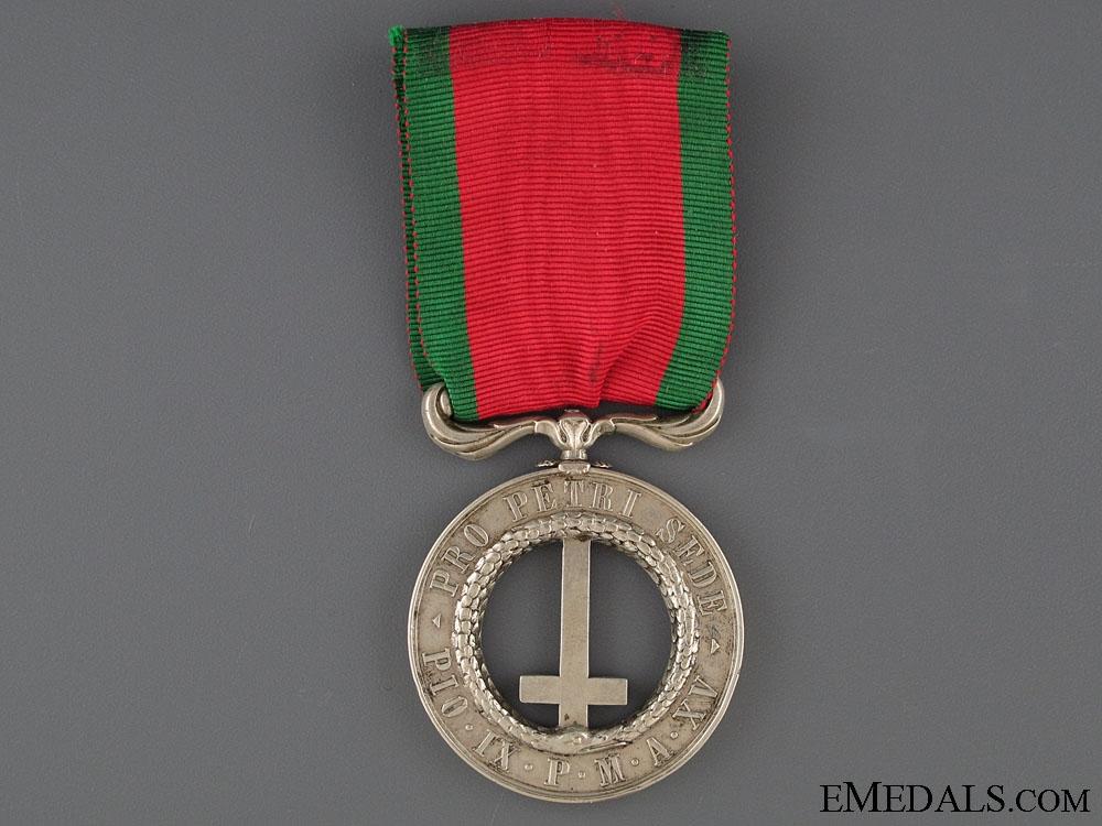 eMedals-1860 Castelfidardo Medal (Pro Petri Sede)