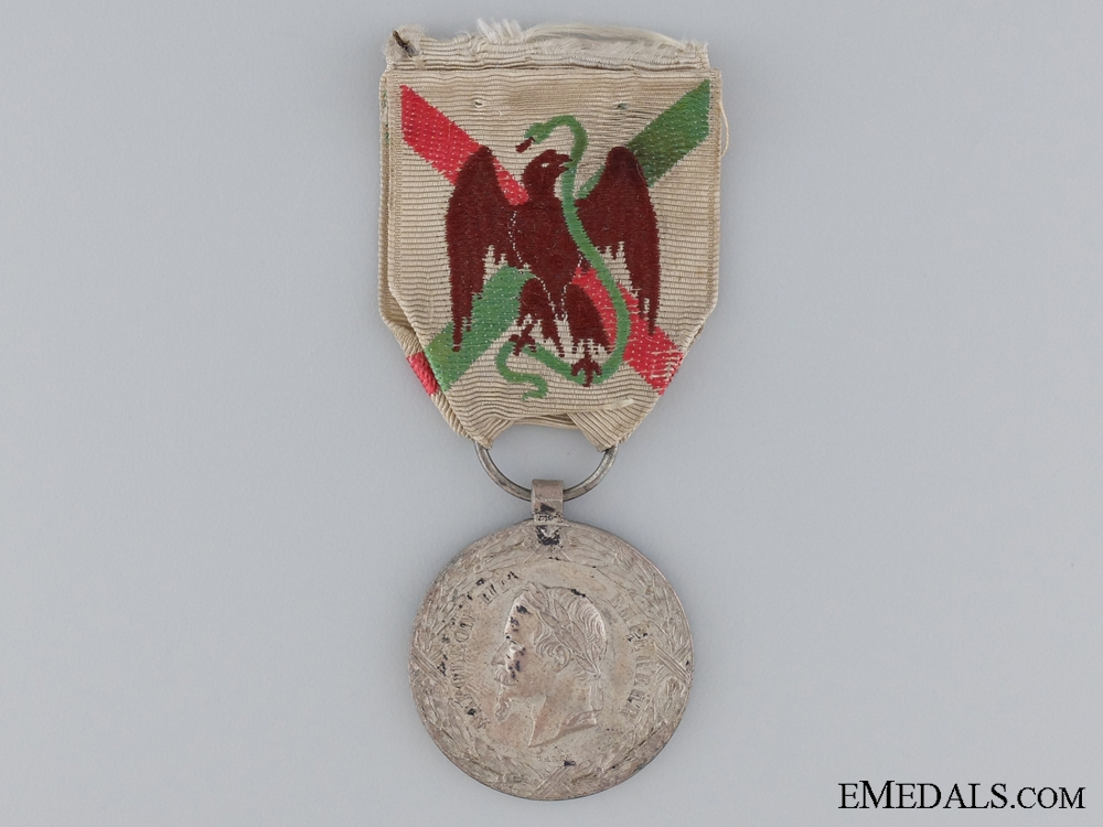 eMedals-1862-1865 French Mexico Campaign Medal