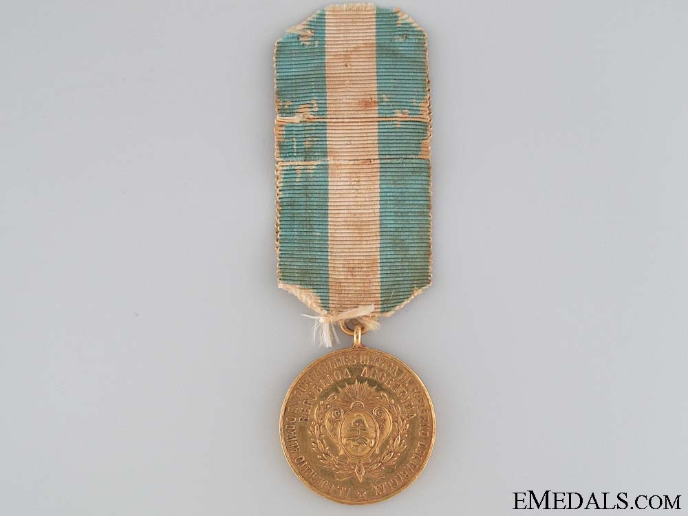 eMedals-Argentina. An 1865-70 Campaign Medal for the Triple Alliance War
