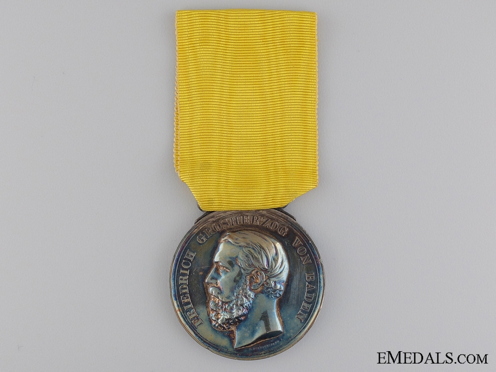 eMedals-1868-1907 Baden Silver Merit Medal