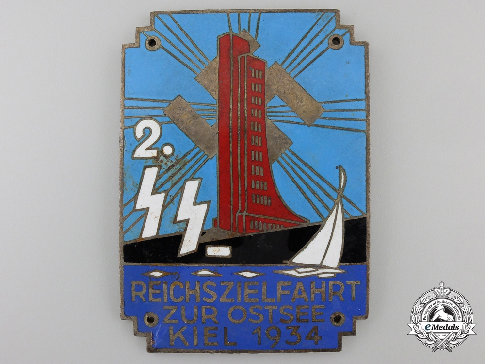 eMedals-A1934Second PlaceSS German Sailing Day Award