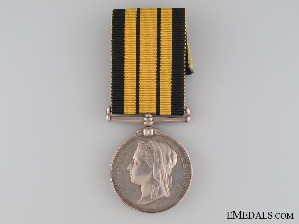 eMedals-1873-1874 Ashantee Medal to HMS BARRACOUTA
