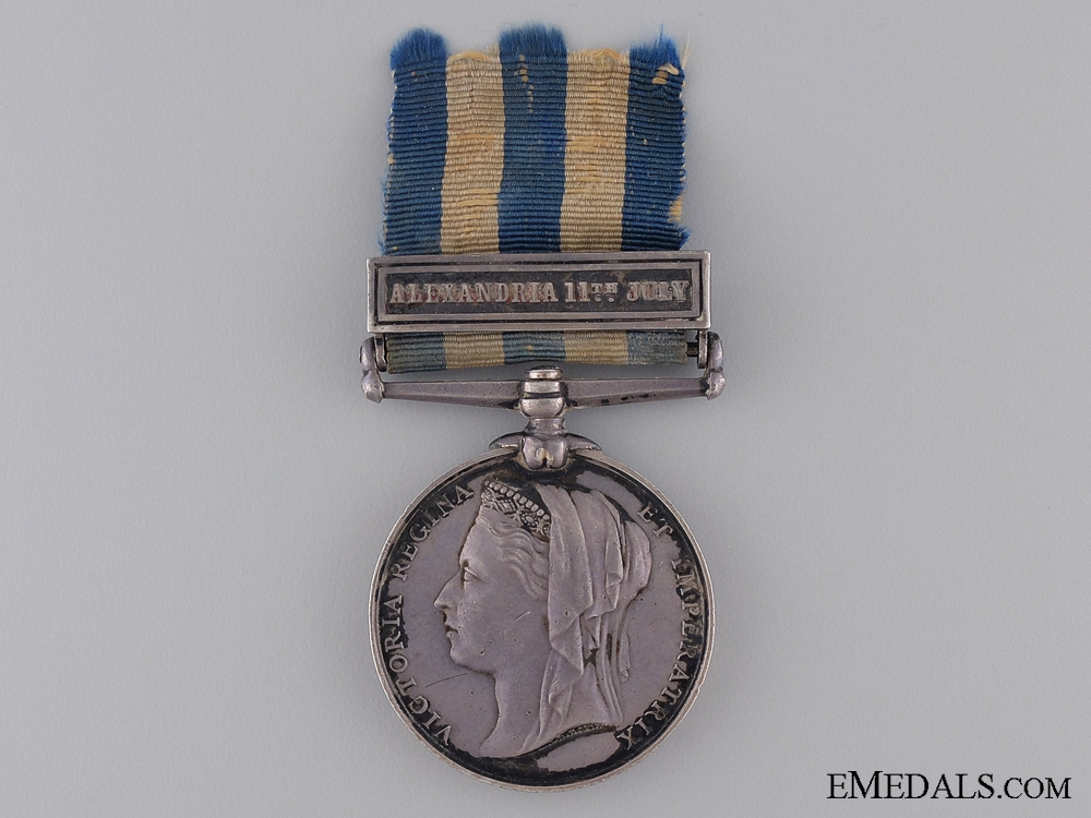 eMedals-1882 Egypt Medal to the Royal Artillery