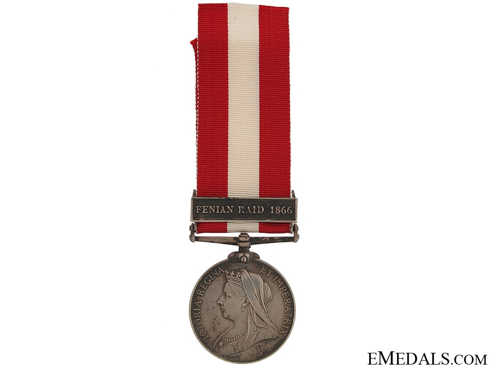 eMedals-1886 Canada General Service Medal - Ottawa Rifles