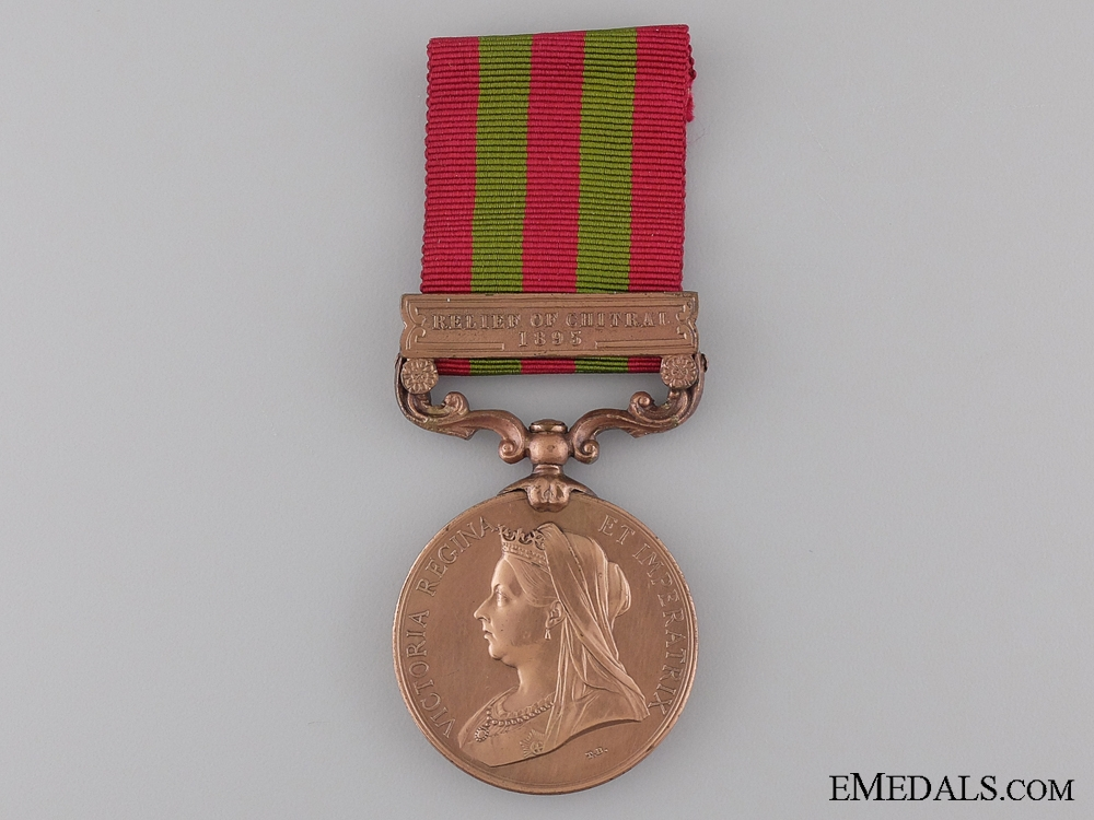 eMedals-1895-1902 India Medal to Construction and Transport