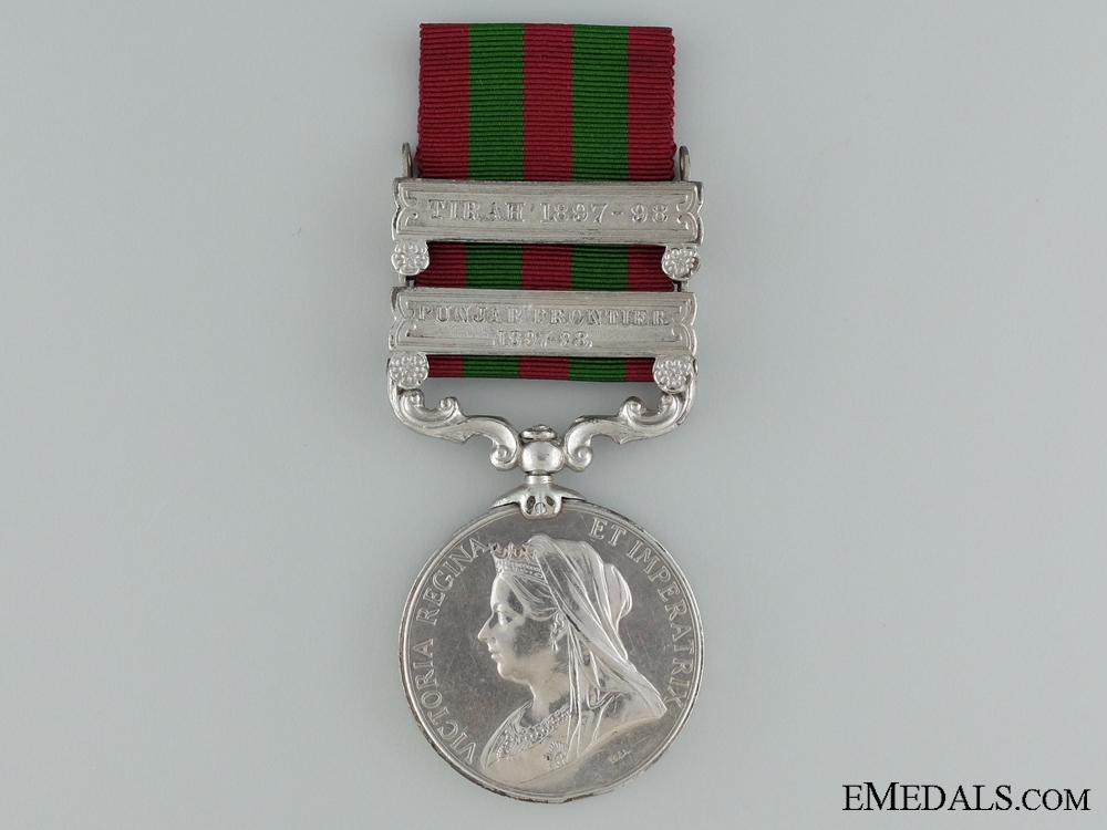 eMedals-1896 India Medal to the 2nd Battalion