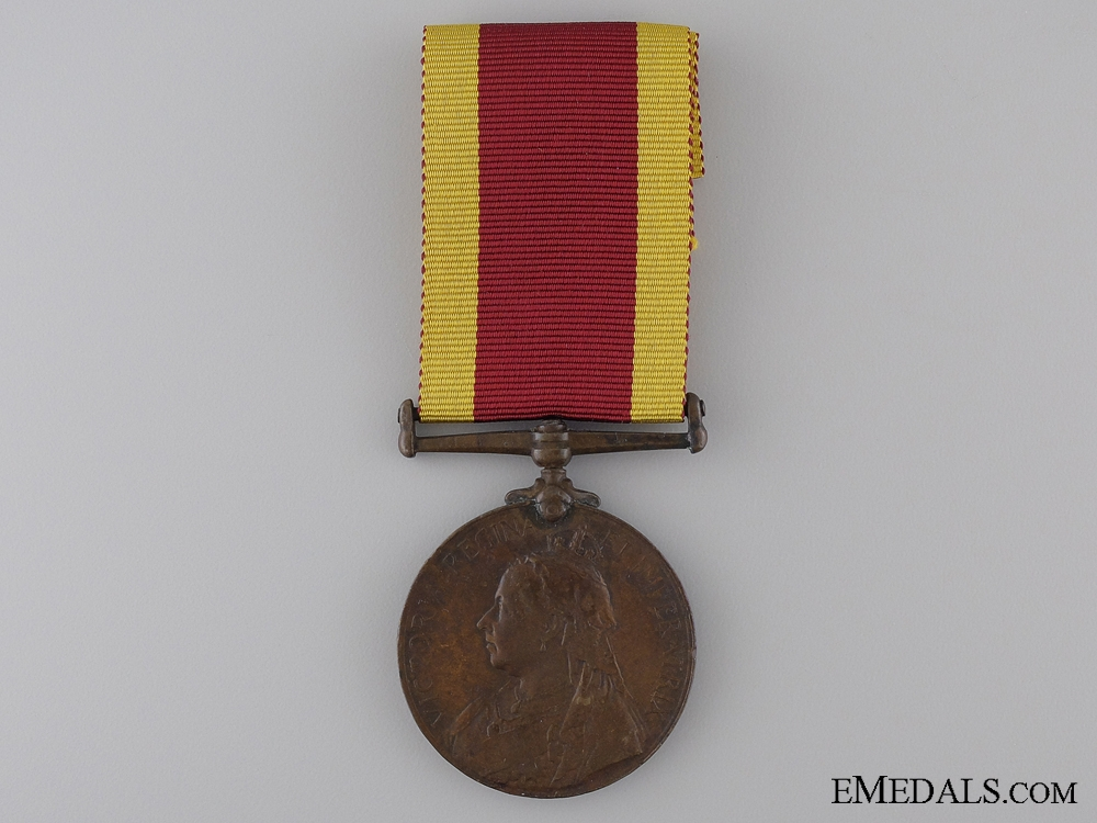 eMedals-1900 China War Medal; Bronze Version