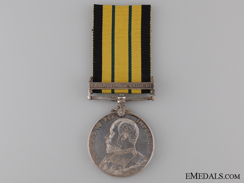 eMedals-1902-56 Africa General Service Medal to the HMS Fox