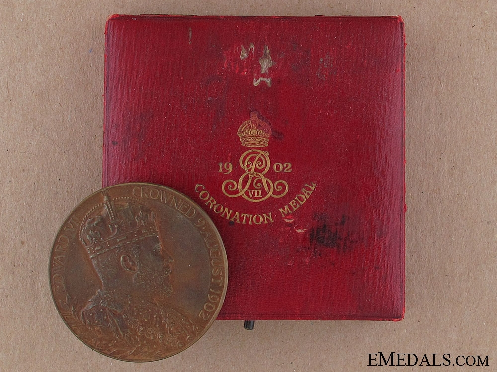 eMedals-1902 Edward VII Coronation Medal