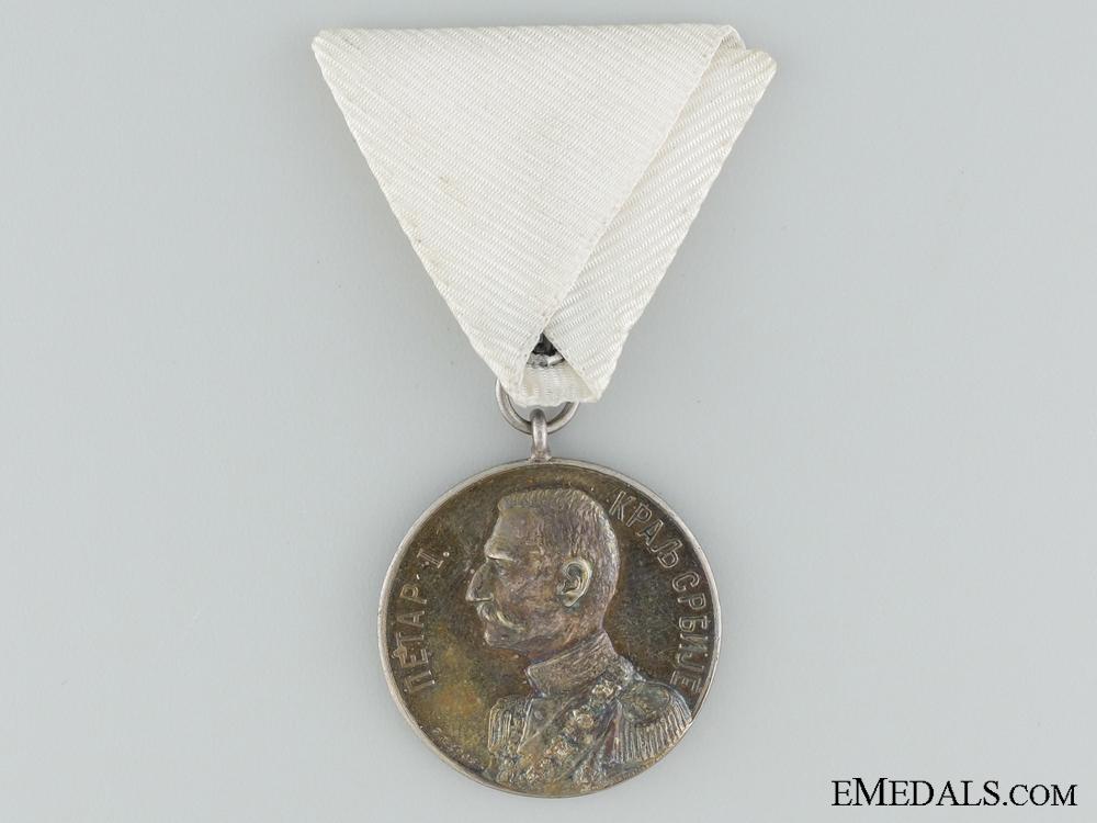 eMedals-1903 Peter I Coronation