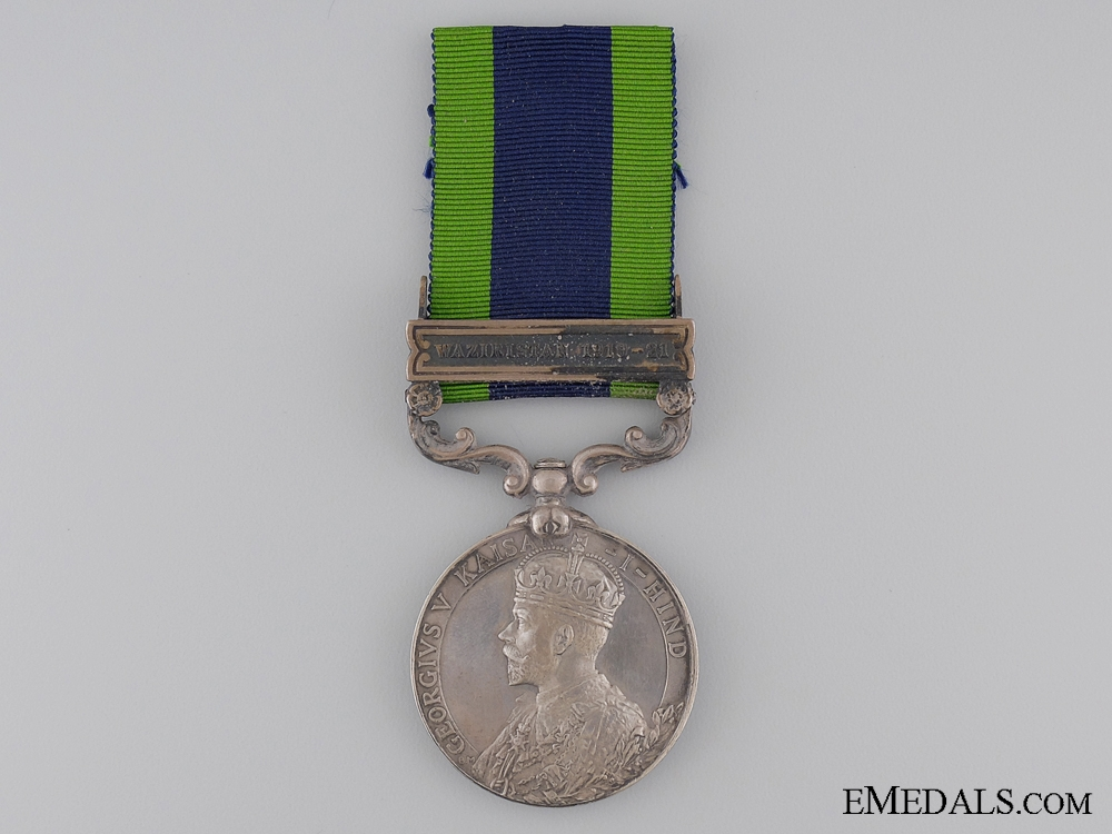 eMedals-1908-35 India General Service Medal to the Machine Gun Corps