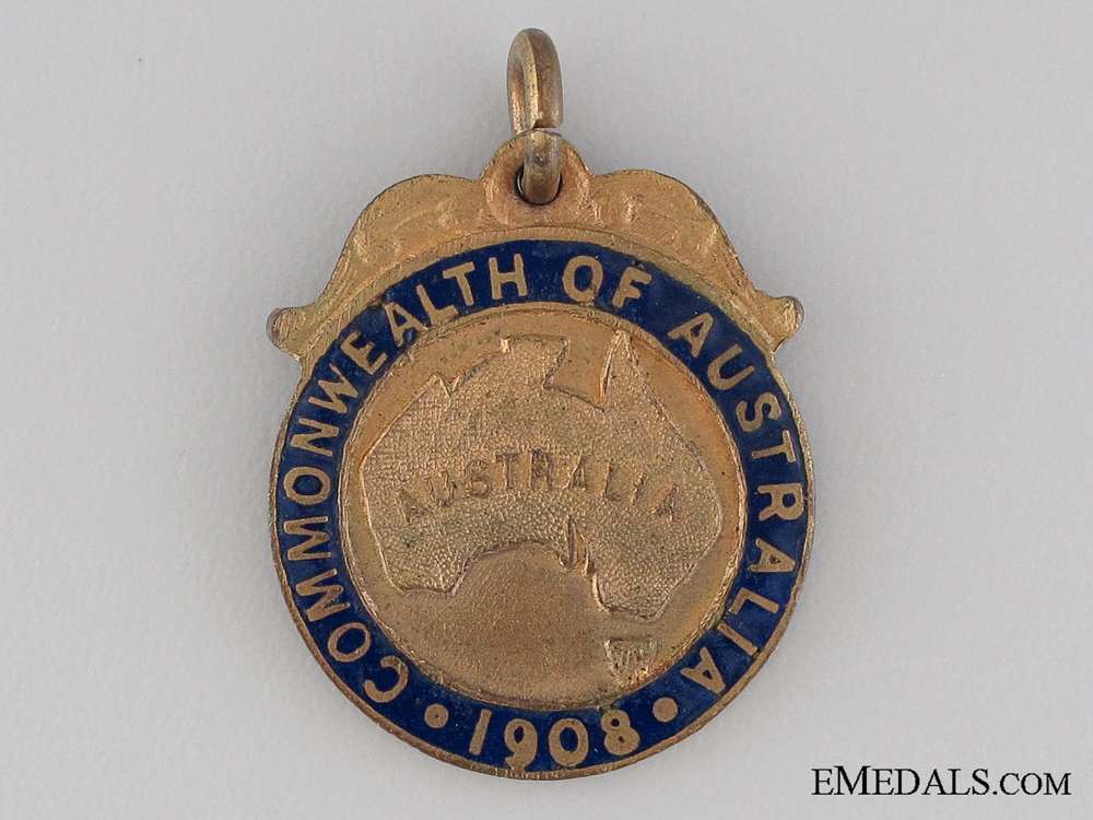 eMedals-1908 Australian Great White Fleet Visit Medal