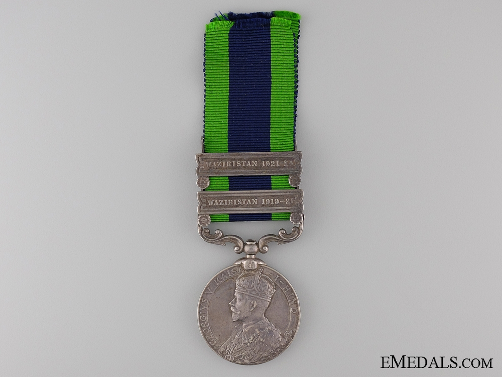 eMedals-India General Service Medal 1908 to the 13th Pack Battery