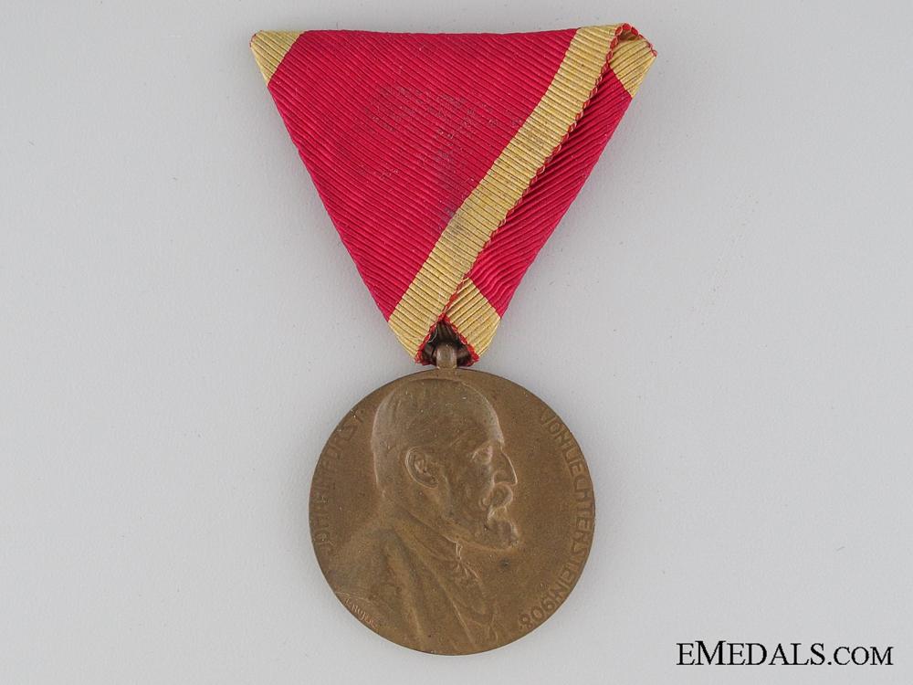 eMedals-1908 Prince Johann Jubilee Medal