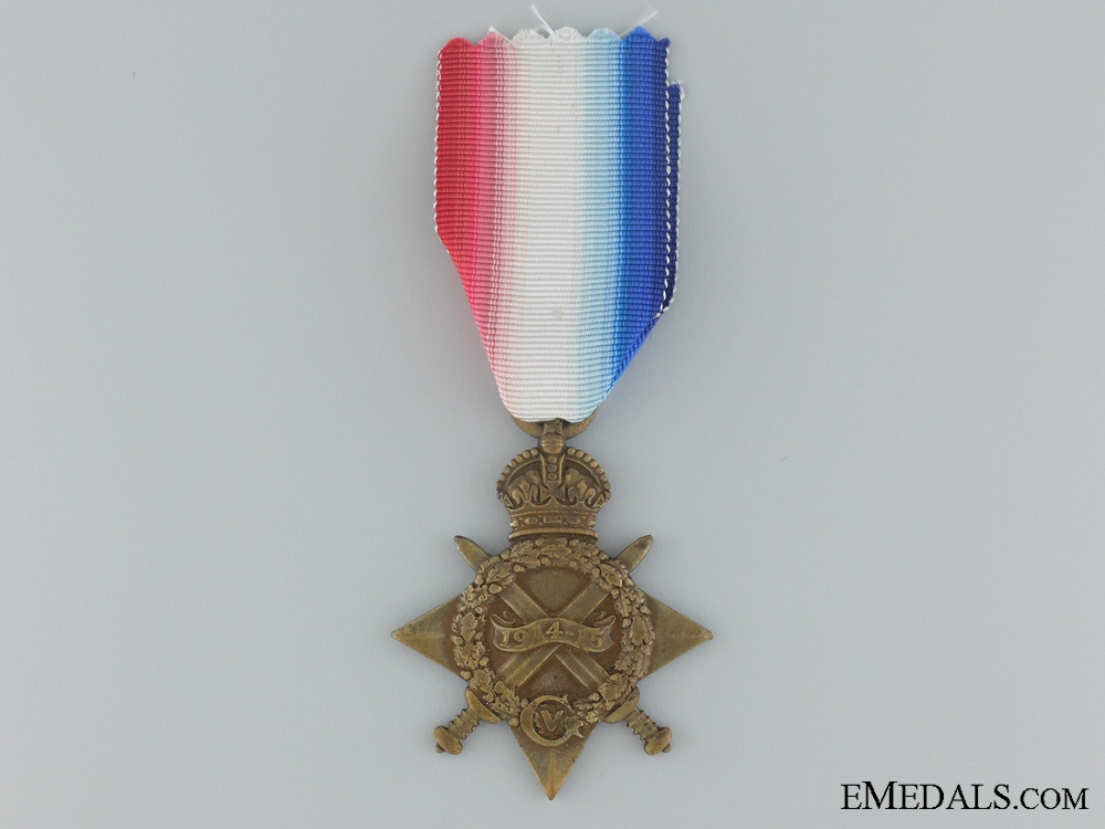 eMedals-1914-15 Star to the Royal Fusiliers