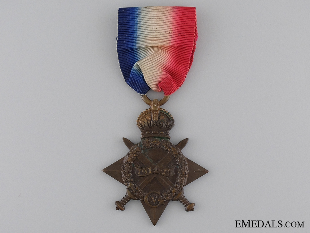 eMedals-1914-15 Star to the Queen's Regiment