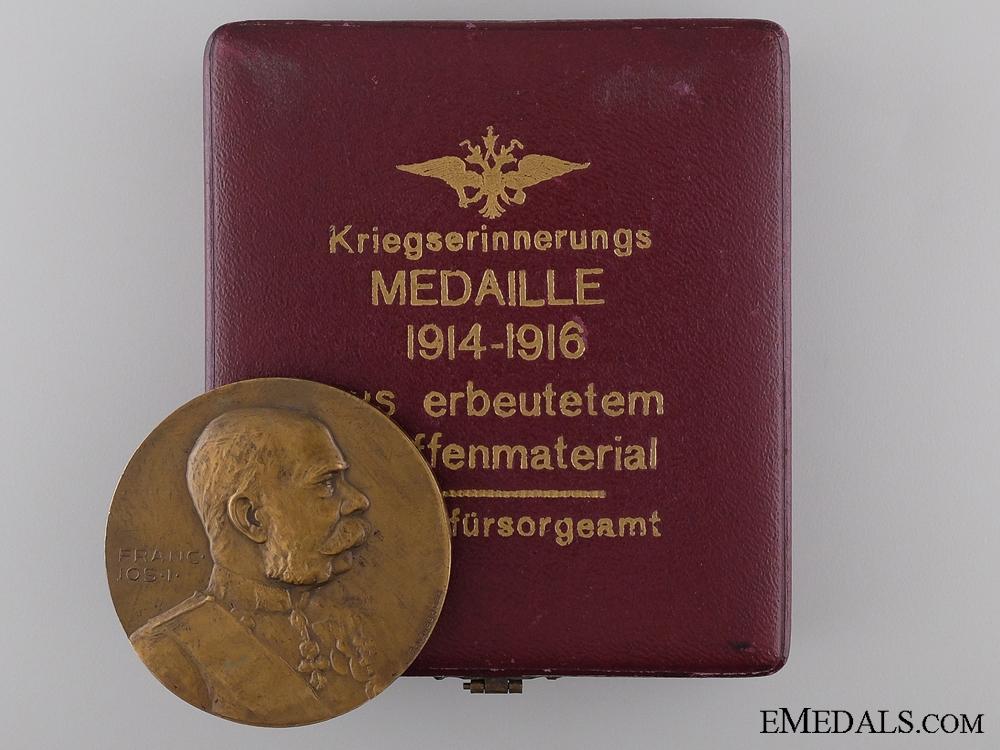 eMedals-1914-1916 Austrian War Welfare Office War Medal