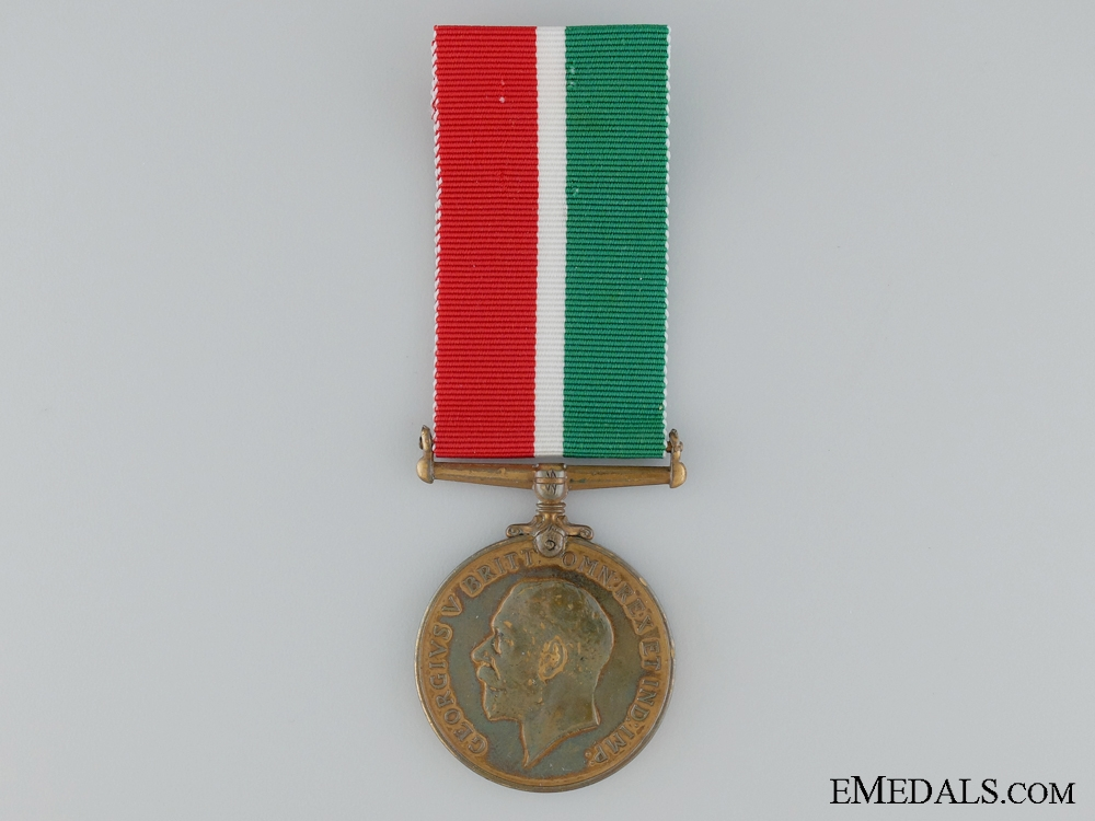 eMedals-1914-1918 Mercantile Marine War Medal