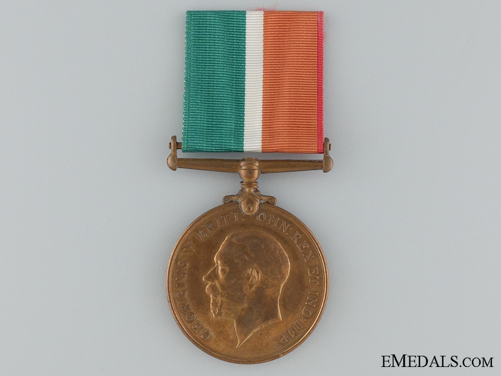 eMedals-1914-1918 Mercantile Marine War Medal to Thomas J. Rowlands