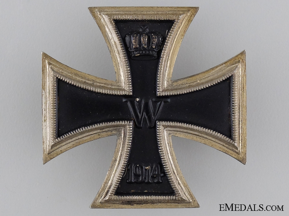 eMedals-1914 First Class Iron Cross; Unmarked