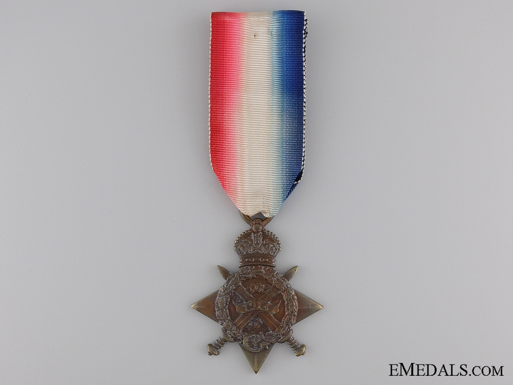 eMedals-1914 Mons Star to the 22nd Battery R.F.A.