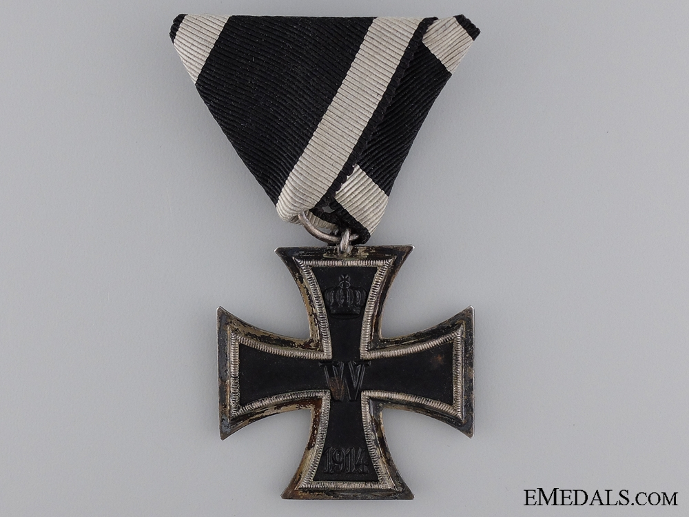 "eMedals-1914 Second Class Iron Cross; Marked ""E"""