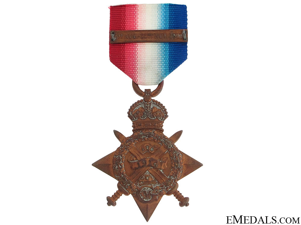 eMedals-1914 Star with Mons Clasp