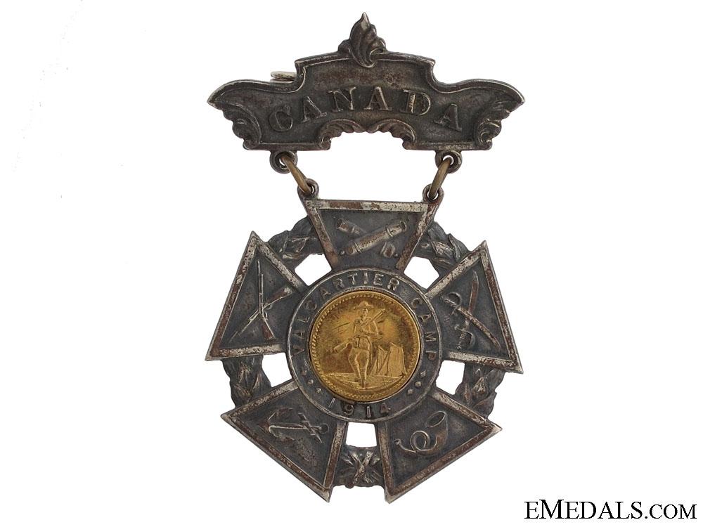 eMedals-1914 Valcartier Camp Medal