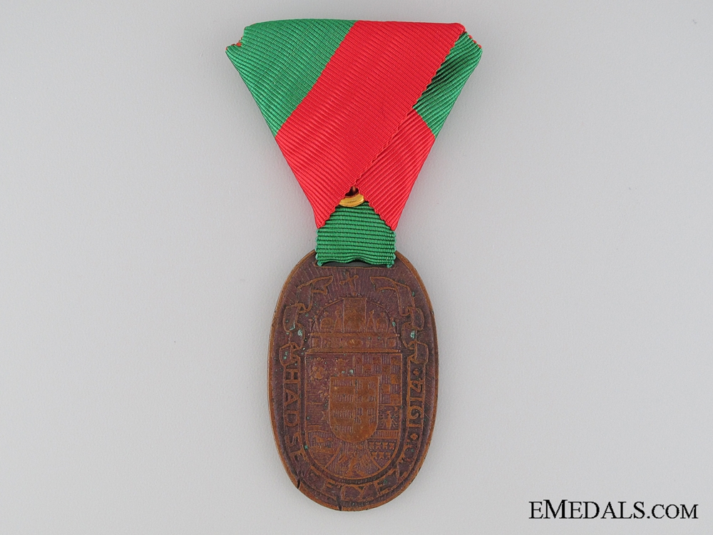 eMedals-1914 War Medal for Hungarian Volunteers