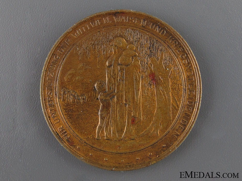 eMedals-1915 American Aid to Germany Contribution Medal