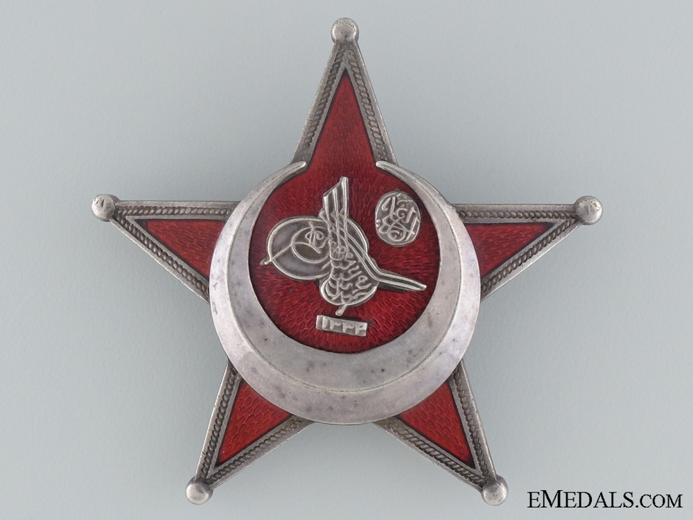 eMedals-1915 Campaign Star (Iron Crescent) in Silver by B.B.& Co