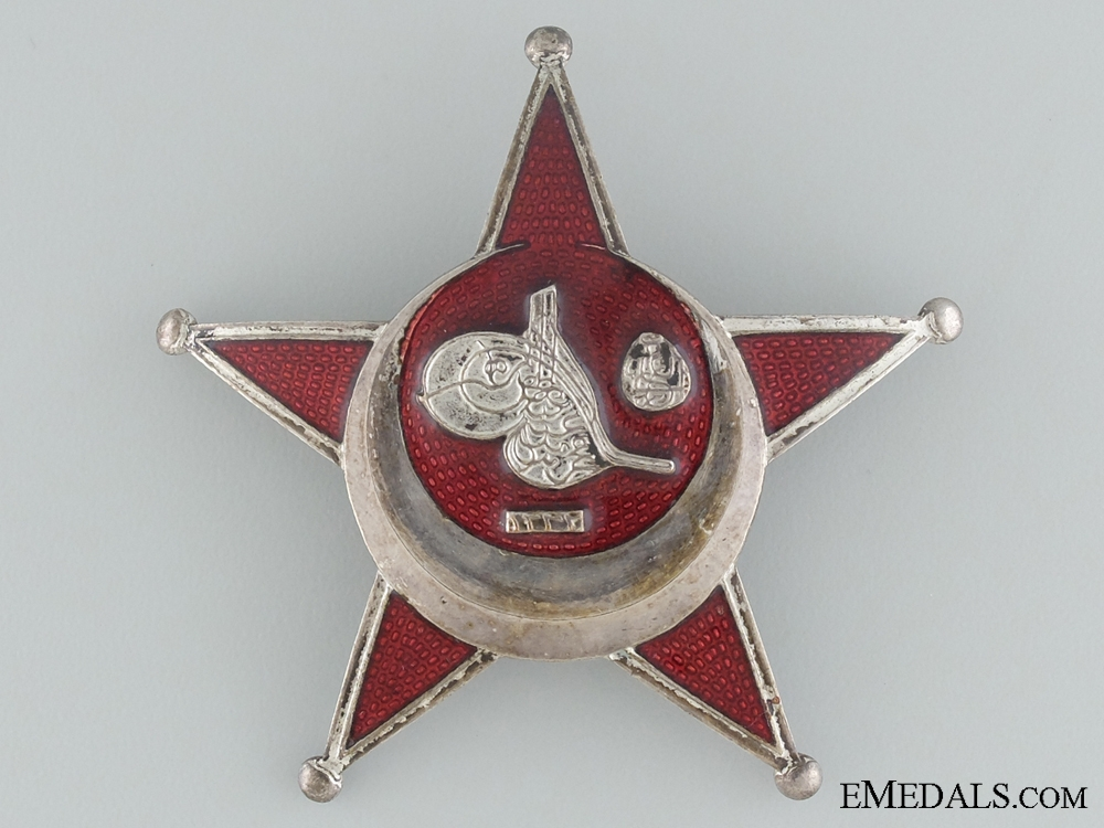 eMedals-1915 Campaign Star (Iron Crescent); Turkish Made