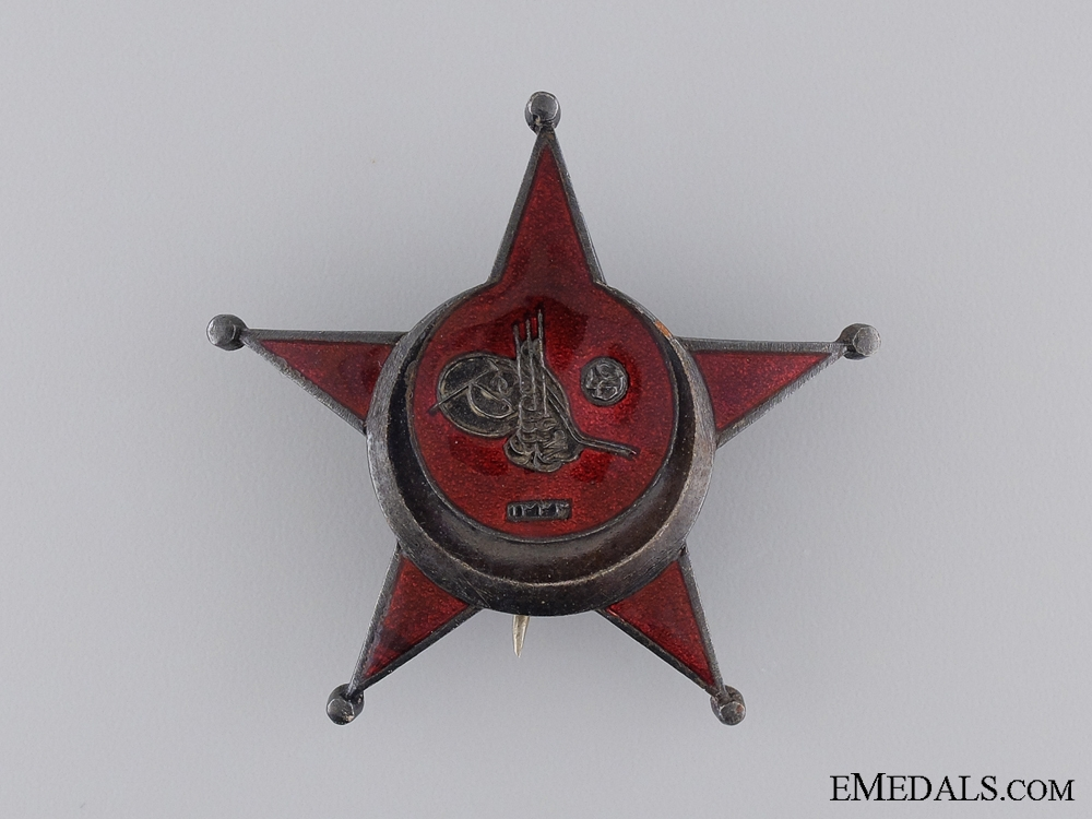 eMedals-1915 Campaign Star  (Iron Crescent); German Made