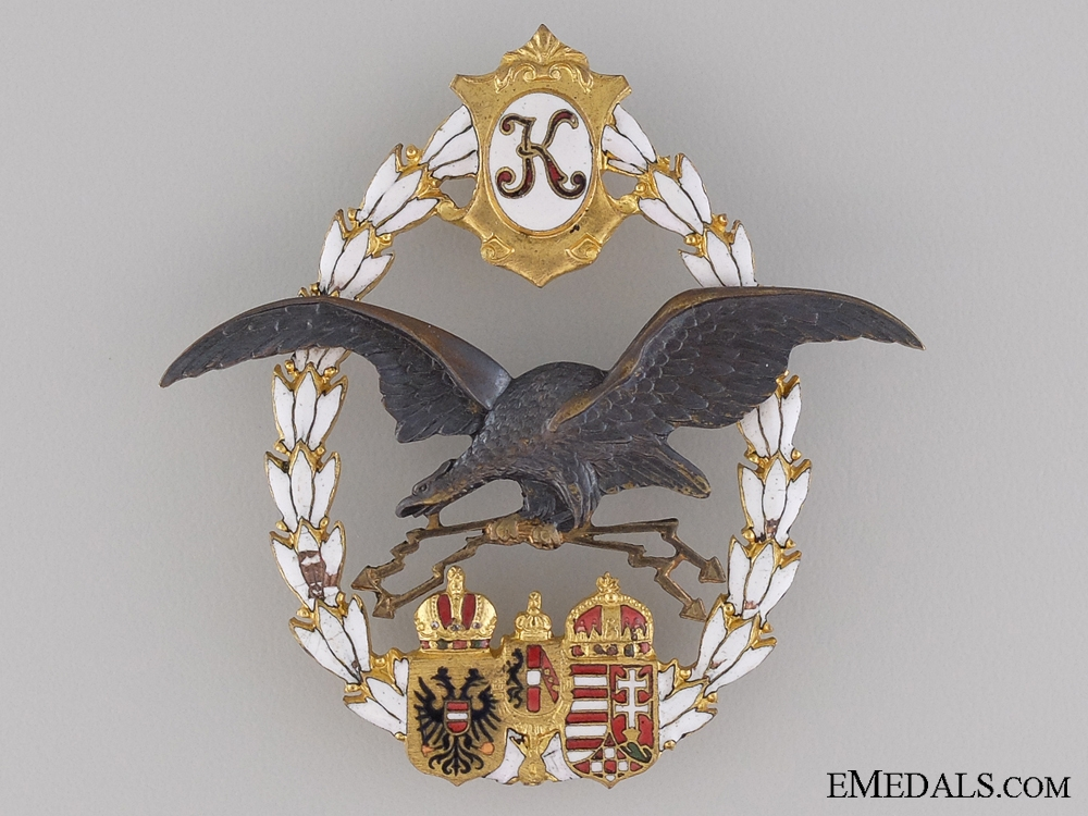 eMedals-1917-18 Austrian General Flying Badge