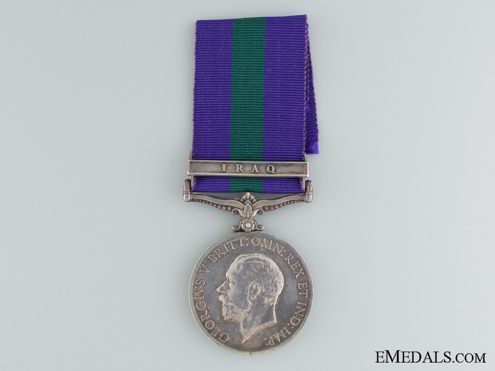 eMedals-1918-1962 General Service Medal to the Royal Artillery