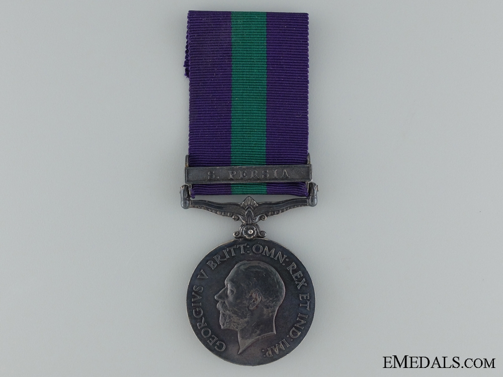 eMedals-1918-62 General Service Medal to B. Smith