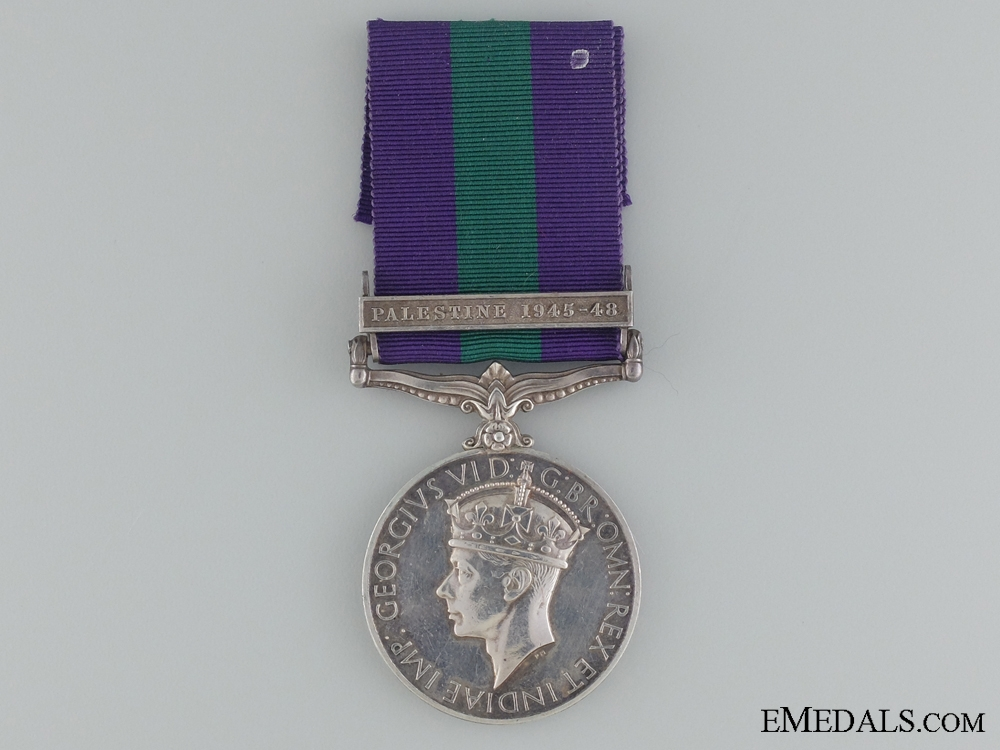 eMedals-1918-62 General Service Medal to CPL.B.T Shupelo