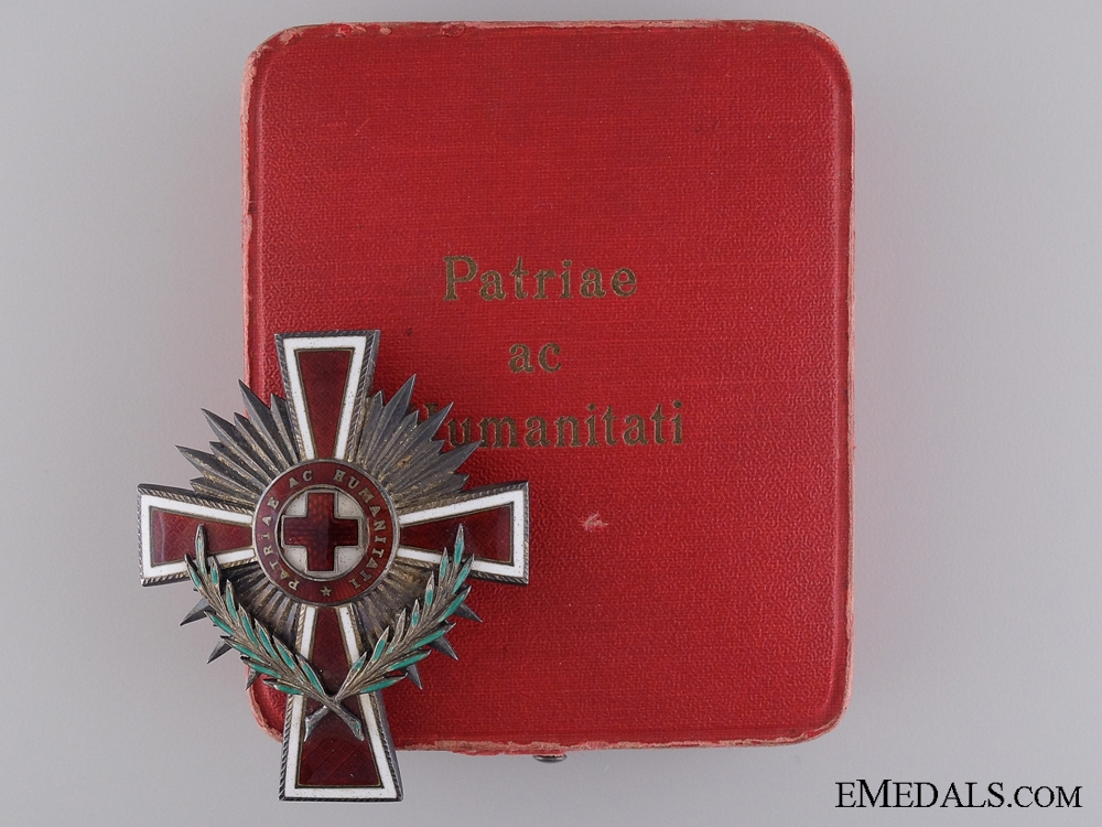 eMedals-1923 Red Cross Officer's Decoration