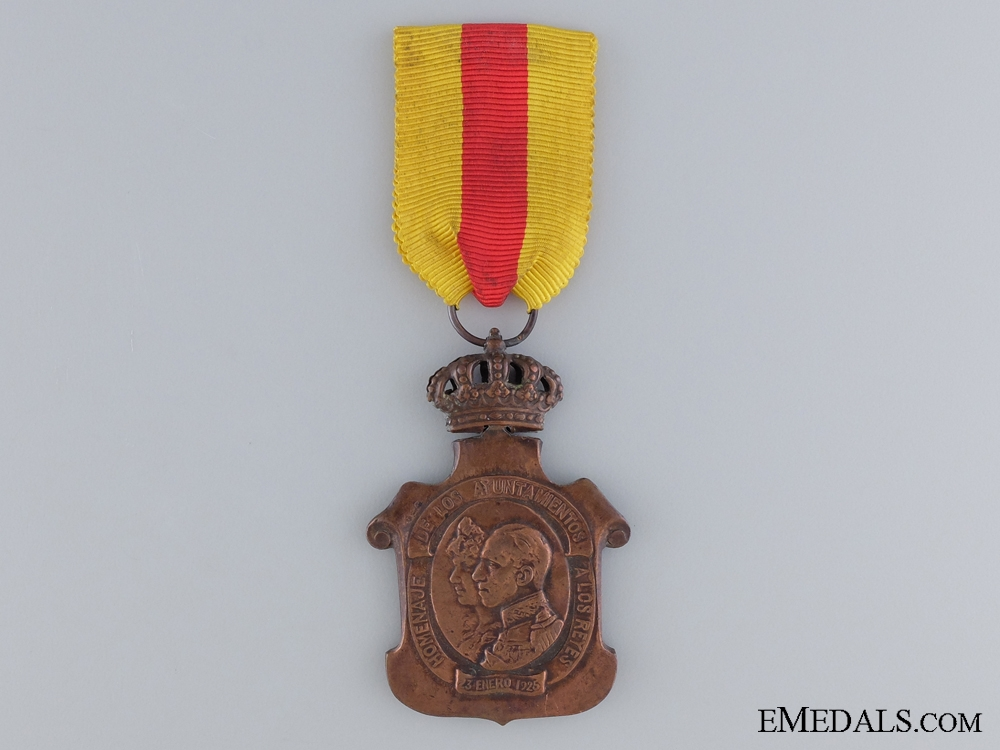 eMedals-1925 Homage to the Royal Family Medal