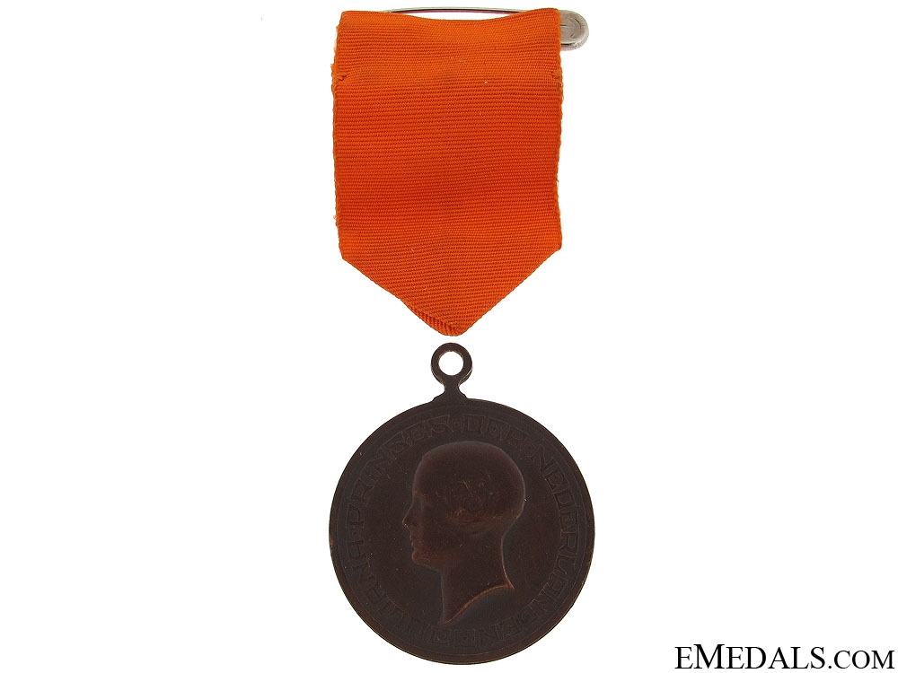 eMedals-1927 Queen Juliana Coming of Age Medal