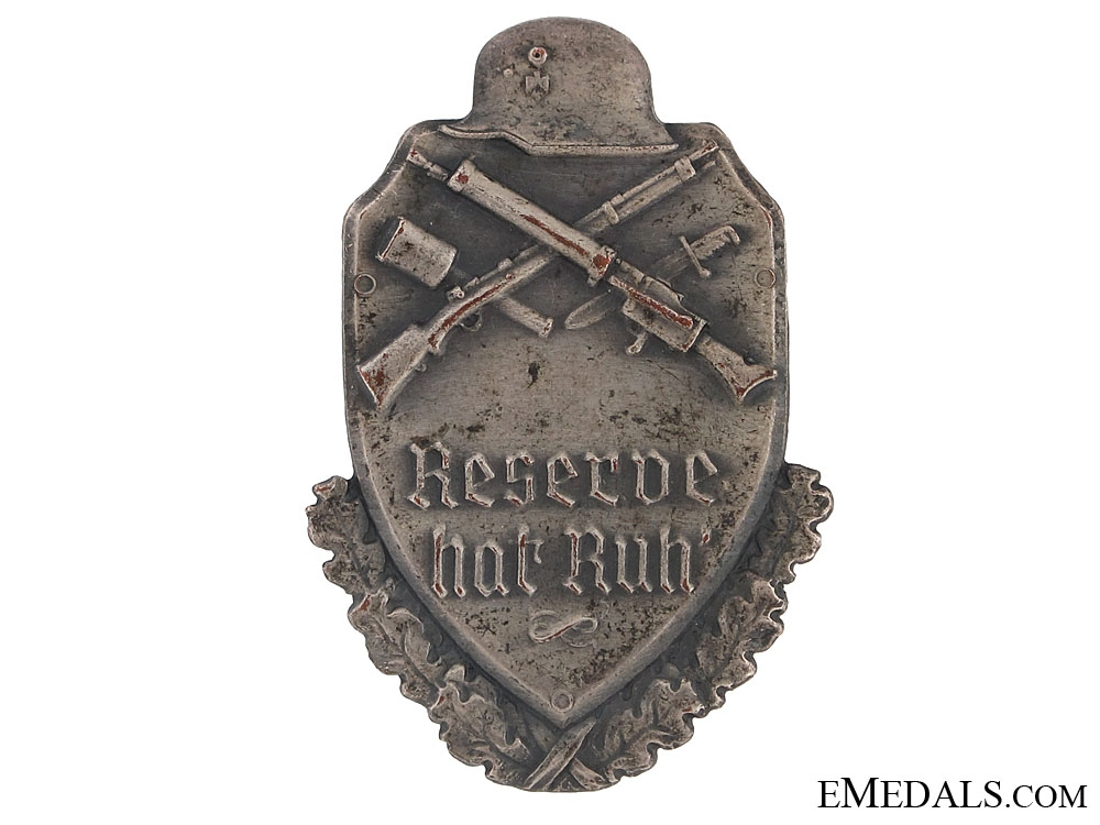 eMedals-1930's Reserve Army Day Badge