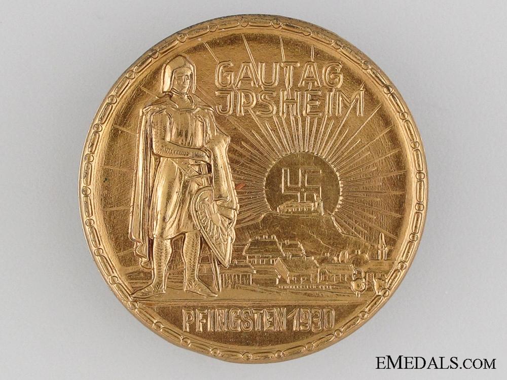 eMedals-1930 Gautag Jpsheim Tinnie