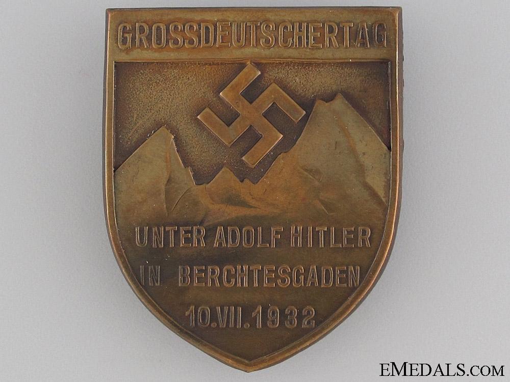 eMedals-1932 Berchtesgaden Commemorative Badge