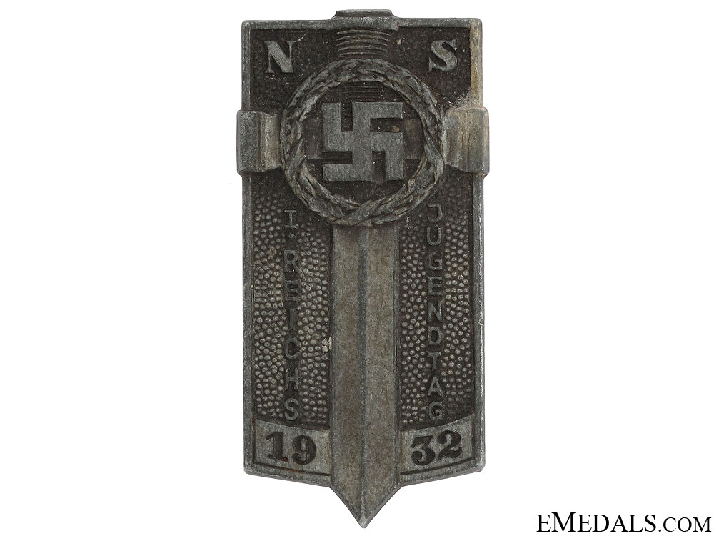 eMedals-1932 HJ Potsdam Badge