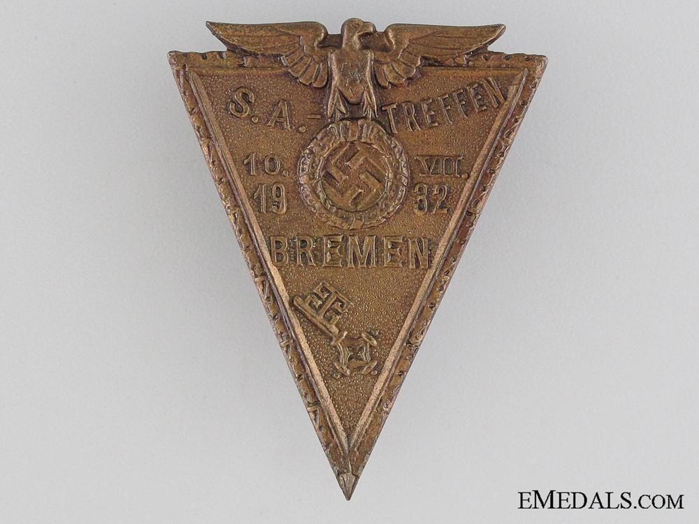 eMedals-1932 SA Bremen Tinnie