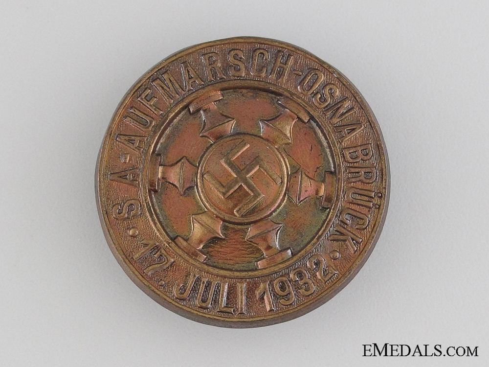 eMedals-1932 SA Deployment in Osnabrück Tinnie