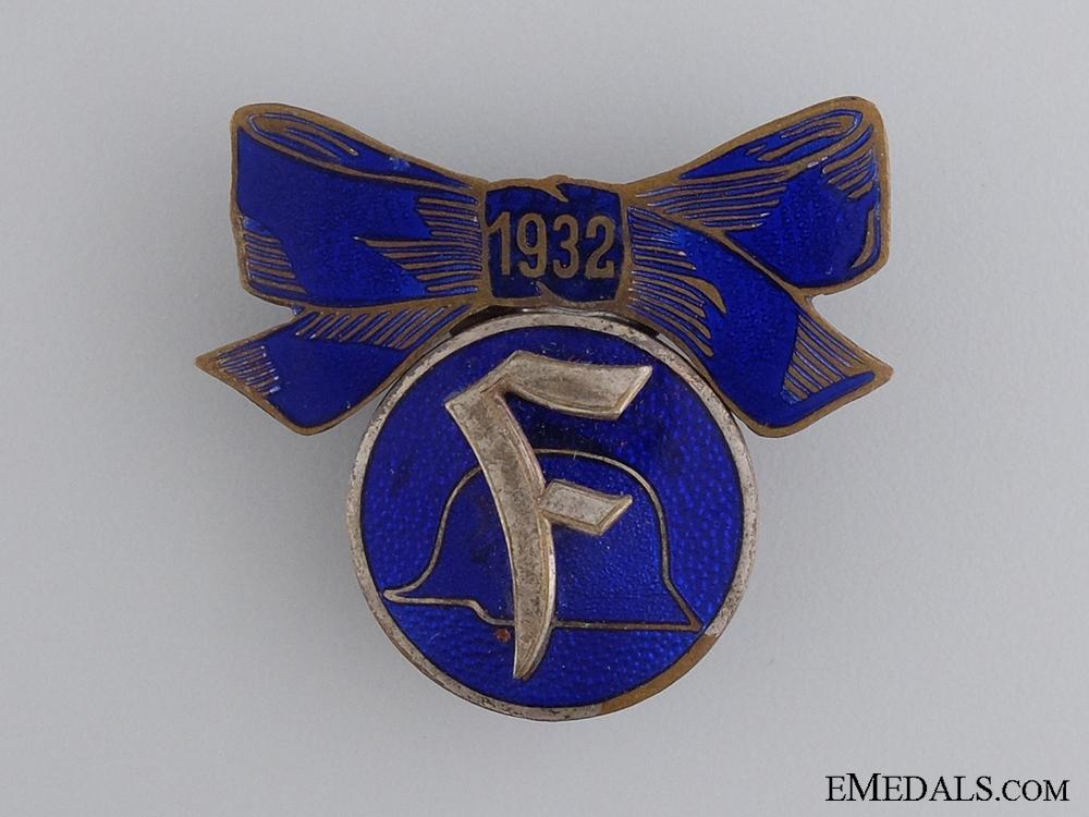 eMedals-1932 Stahlhelm Women's Organization Pin